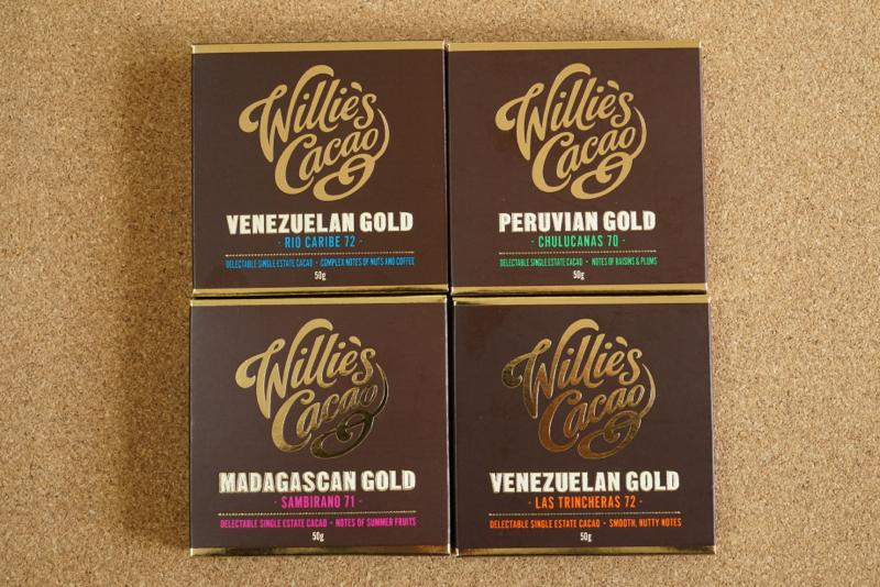 ウィリーズカカオのチョコレート