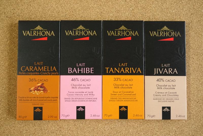 ヴァローナのチョコレート