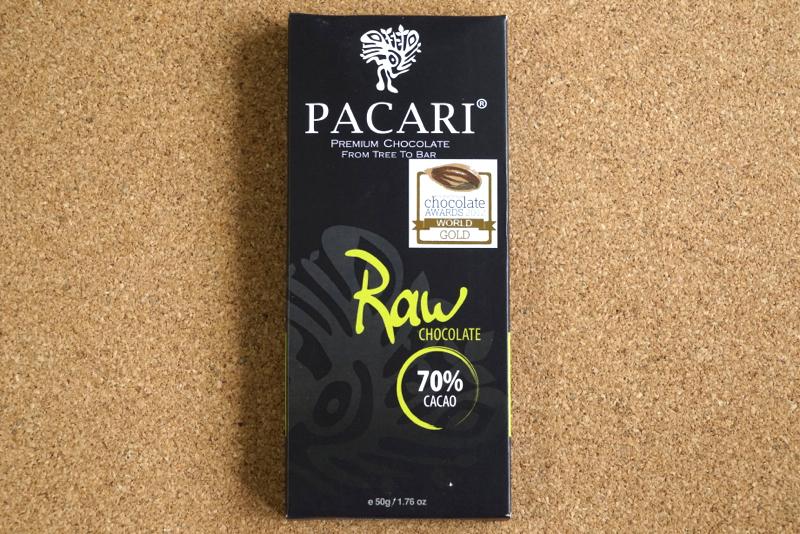 パカリのチョコレート