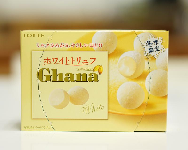 ロッテガーナホワイトチョコトリュフ