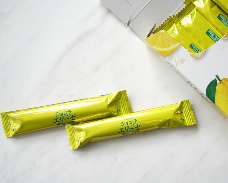 ショコラエリーぜ瀬戸内レモンの包装