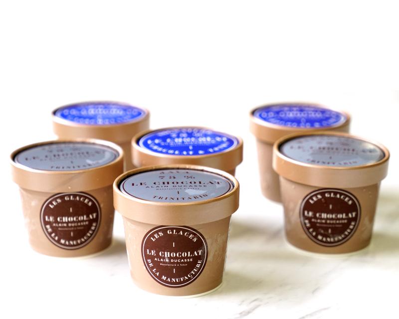 ルショコラアランデュカスのアイスクリーム